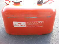 JOHNSON METAL GAS CAN 5 GALLON RED VINTAGE