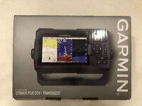 Garmin Striker Plus 5CV Fish Finder With CV-20TM Transducer