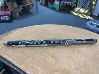 BUNDY BASS CLARINET NECK LOWER JOINT/BODY FOR PARTS/REBUILD/ 9051