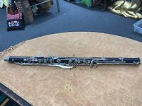 BUNDY BASS CLARINET NECK LOWER JOINT/BODY FOR PARTS/REBUILD/ 8232