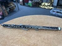 BUNDY BASS CLARINET NECK LOWER JOINT/BODY FOR PARTS/REBUILD/ 1252