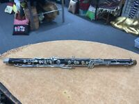 BUNDY BASS CLARINET NECK LOWER JOINT/BODY FOR PARTS/REBUILD/ 3153