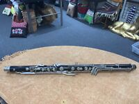 BUNDY BASS CLARINET NECK LOWER JOINT/BODY FOR PARTS/REBUILD/ 2498