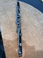 VINTAGE VITO RESO TONE BASS CLARINET FOR PARTS OR REBUILD OPPORTUNITY