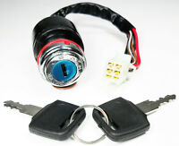Ignition Key Switch for many Chinese ATV#x27;s Dirtbikes Go Karts 6 Wire 6 Pin Jack