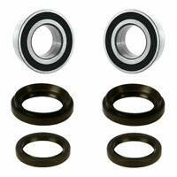 4x4 BOTH Front Wheel Bearing and Seal Kits For 88-00 Honda TRX300FW Fourtrax