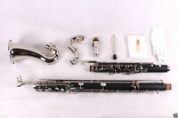 High quality  Bass Clarinet Model PADS And Case Low C Nice Tone Low C
