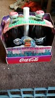 Coca-Cola Super Bowl 1994 Limited Edition Set With Bottles, Pin,