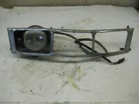 Vintage Snowmobile 73 Arctic Cat El Tigre 250 Chrome Grill & Headlight Assembly