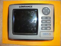 Lowrance HDS5 nautic insight  no pcb for parts not working
