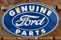 VINTAGE FORD MOTOR COMPANY PORCELAIN ENAMEL DEALERSHIP ADVERTISING SIGN