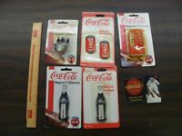 misc lot of coca cola magnets new and used