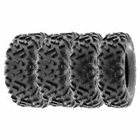 SunF 22x7-10 20x10-9  All Terrain ATV UTV Tire 6 PR  POWER II A051 [Bundle]
