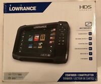 Lowrance HDS Carbon 7 TotalScan Portable Fish Finder System with Transducer