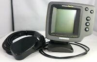 Humminbird Wide Optic High Performance Fishfinder,Mount, Wires,Transducer-Tested