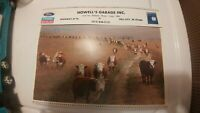 Vintage Ford New Holland Tractor Dealer Advertising Tell City IN 1991 Calendar