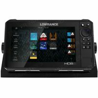 NEW Lowrance HDS-9 LIVE w/Active Imaging 3-in-1 Transom Mount & C-MAP Pro Chart