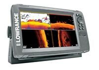 Lowrance Hook2 9 TripleShot US Inland Sonar/GPS Combo w/ Transducer 3-in-1 Sonar