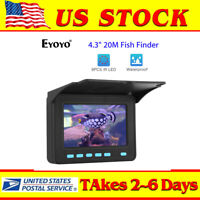 4.3quot; 20M Fish Finder Used 6 8 Hours 8pcs IR LED Underwater Fishing Video Camera