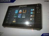 Brand New Lowrance HDS 12 LIVE Touch Insight GPS/Fishfinder C Map NO Transducer