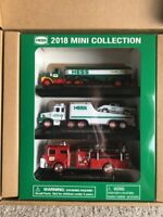 2018 Hess Mini Toy Truck Collection New in Box