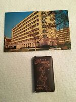 small motel bar soaps w/ postcard with 1 soap