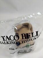 Taco Bell Talking Dog Plush I Think I'm In Love Red Rose Applause 6quot; Chihuahua