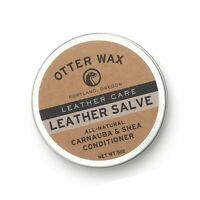 Otter Wax Leather Salve 5oz All Natural Universal Conditioner Made in U... $29.95