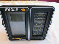 Eagle Z-6100 LCG Recorder Fish Finder Monitor, Console Unit Only
