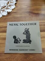 Welcome Music Together A Multimedia Introduction Bringing Harmony Home CD used $7.70