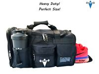 Duffle Bag Gear Travel Mens Womens Overnight Sports Gym Large Training Workout