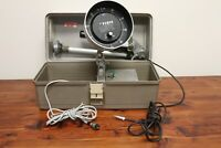 Vintage 70s Waller Fish Hawk 301 Portable Flasher Fish Finder in Tackle Box