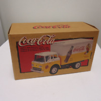 vintage coke delivery truck dicast toy empty box,sprite boy 1998,drink coke