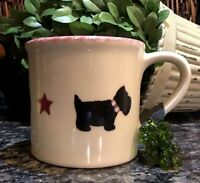 Starbucks Barista By HARTSTONE Handpainted SCOTTIE DOG Mug ~ Signed PRISTINE!