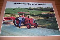 INTERNATIONAL SERIES 84 BLACK STRIPE TRACTOR LITERATURE