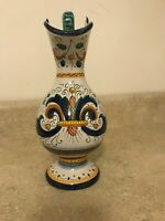VINTAGE DERUTA POTTERY ITALY MAJOLICA RICCO Pitcher