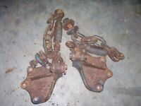 VINTAGE FORDSON  MAJOR DIESEL TRACTOR - 3 POINT SWAY CHAINS & AXLE BRKTS