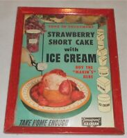 Vintage Pensupreme Ice Cream Soda Framed Poster
