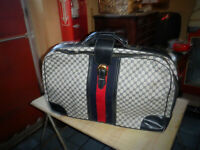 Vintage GUCCI 8 piece  Luggage Set