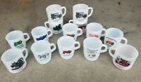 Vintage Tractor & Car Coffee Cup Mug Lot / Many Brands