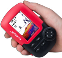 HawkEye  FISHTRAX™ 1C | HANDHELD FISH FINDER HD COLOR VIRTUVIEW™ DISPLAY