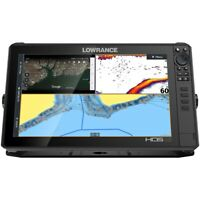 LOWRANCE HDS 12 LIVE W ACTIVE IMAGING 3 IN 1 TRANSOM MOUNT amp; C MAP PRO CHART