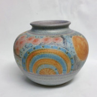 Lazzaro For Italica Ars Large Pottery Vase