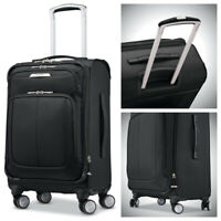 Samsonite Solyte DLX 20 inch Softside Expandable Spinner Luggage Carry On Black