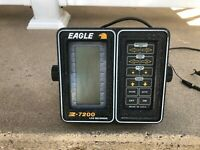 VINTAGE EAGLE Z-7200 LCG GRAPH RECORDER FISH FINDER