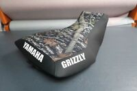 Yamaha Grizzly 700 Camo Top Logo Seat Cover #yz107kya107