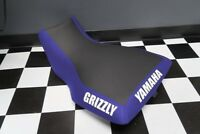 Yamaha Grizzly 660 Blue Sides Logo Seat Cover #yz80kya80