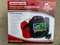 Vexilar FS800 Fish Scout Color/Black & White Underwater Camera w/Soft Case - NEW