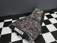 Yamaha Grizzly 660 Camo Top Logo Seat Cover #yz75kya75