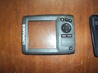 Lowrance Mark-5x DSI empty housing for Fishfinder for parts not working